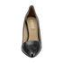 Ponadczasowe szpilki Buffalo Diva 111-3011 black leather