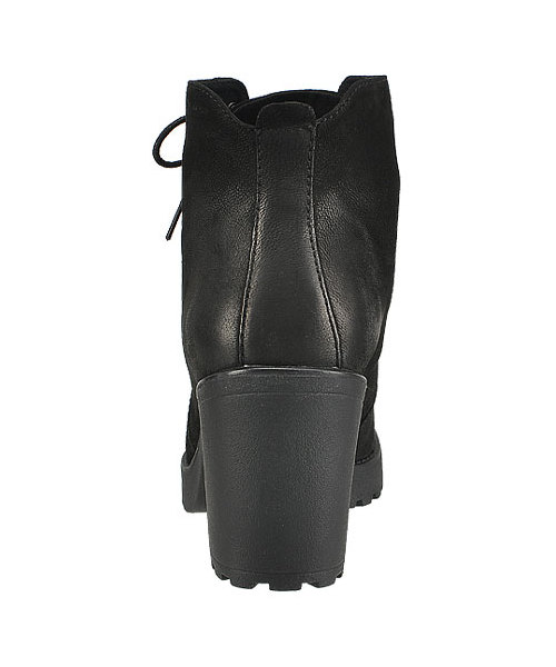 Vagabond Grace 3628 150 20 Black, Botki trapery na grubym
