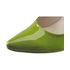 Lakierowane szpilki Oleksy 1843-874 green