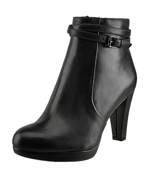 reasonable price sale uk order Botki Clarks Kendra Shellblack leather