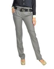 Klasyczne spodnie na kant Charlise DRA001