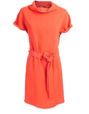 Sukienka w neonowym kolorze DOTS