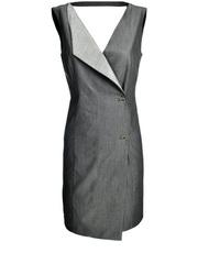 Sukienka odsłaniająca plecy DOTS