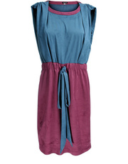 Welurowa sukienka DOTS