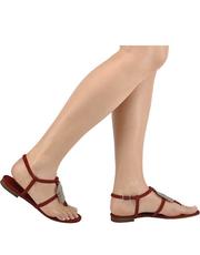 Eleganckie płaskie sandały Bruno Premi