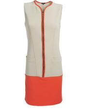 Neonowa sukienka DOTS