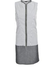 Prążkowana sukienka z zamkiem DOTS