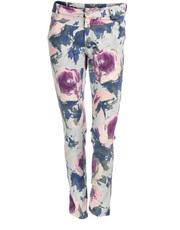 Romantyczne spodnie rurki DOTS BU-0010t