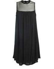 Wiezorowa sukienka z szyfonu DOTS