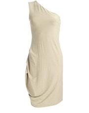 Cielista sukienka z drapowaniem DOTS