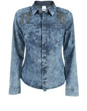 Jeansowa koszula Rütme