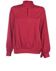Elegancka bluzka ze stójka DOTS 12451A