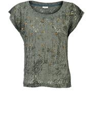 Koronkowa bluzka z ćwiekami Numph Ester