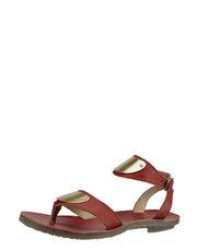 Skórzane sandały z metalowymi okuciami FLY London