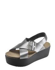 Metaliczne sandały PlaktonBotki Buffalo