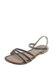 Sandały o metalicznym połysku GIOSEPPO
