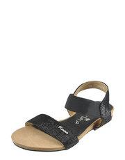 Sandały z wężowej łuski Karino