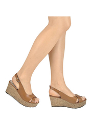 Sandały na korkowym koturnie Hops