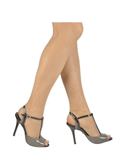 Lakierowane sandały na szpilce Buffalo
