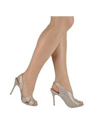 Asymetryczne sandały na szpilce Buffalo
