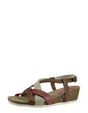 Sandały na korkowym koturnie TakeMe Lilah ROM155